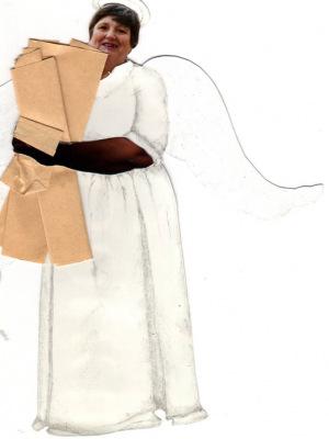 Лариса Михайловна в изображении учеников